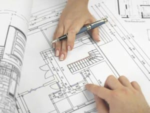 Working on blueprints